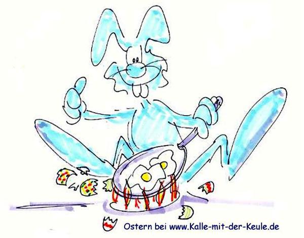 Osterhase und die leidigen Eier