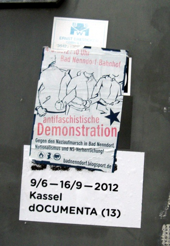 aufkleber documenta d13