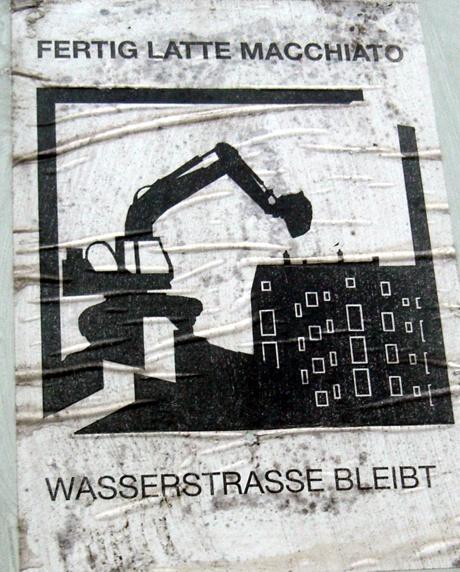 Gentrifizierung Basel, Plakat Wasserstrasse