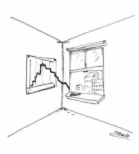 Börse Cartoon